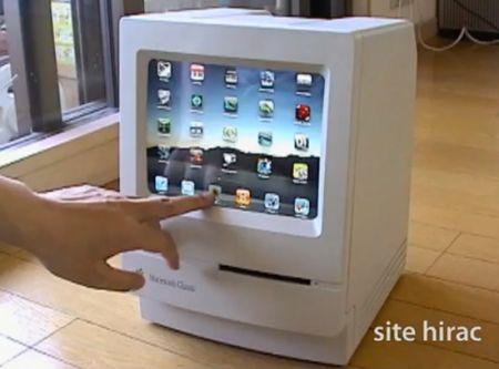 iPad diventa Macintosh Classic con un fantastico stand