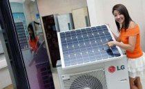 Condizionatore daria a energia solare, da LG