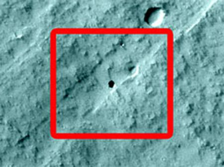 Marte: voragine scoperta da scolari americani