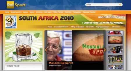 Mondiali di Calcio 2010 su iPad, gratis con Rai
