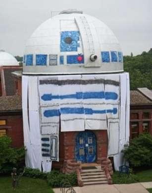 Osservatorio trasformato in R2-D2