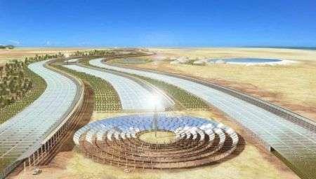 Pannelli Solari nel Sahara per alimentare l'Europa