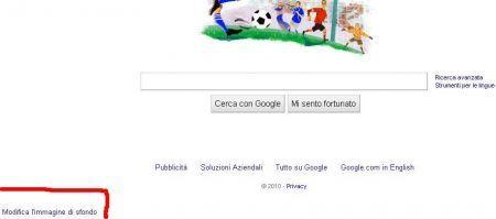 Google rimuove la homepage colorata, con foto