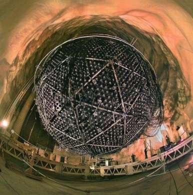 Sfera cattura neutrini sotto il Canada