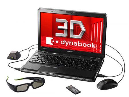 Toshiba Dynabook e i Blu-Ray 3D a mezzo servizio