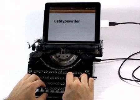 Macchina da Scrivere USB per iPad: fantastico!