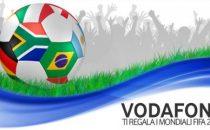 Mondiali Sud Africa 2010 sul cellulare con Vodafone Calcio