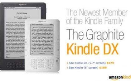 Amazon Kindle DX Graphite: ampio, ricco e economico, ecco il super ereader