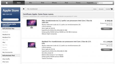 MacBook Pro Ricondizionati scontati su Apple Store