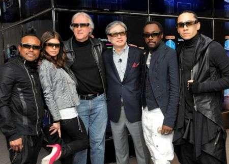 James Cameron e il documentario 3D sui Black Eyed Peas