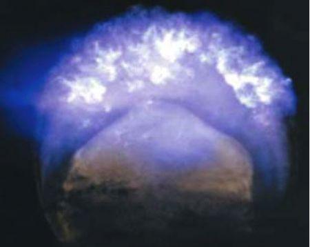 Bomba all'Idrogeno (H-Bomb) nello spazio, foto