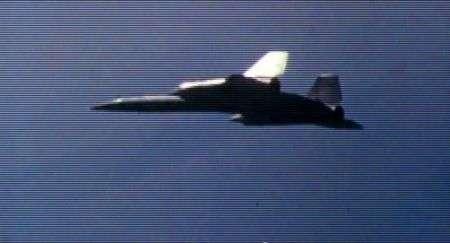 A-12: video dell'aereo supersonico segreto della CIA