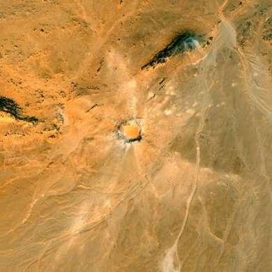 Google Earth scopre il cratere Kamil in Egitto!