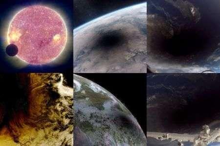 Eclissi Solari viste dallo Spazio, suggestive foto