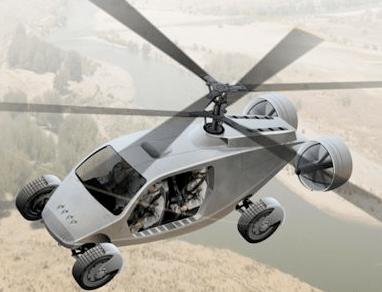 Elicottero-Jeep 4×4: il mezzo hitech ibrido perfetto?