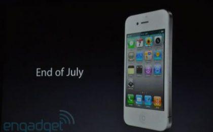 iPhone 4 bianco retromarcia: arriverà a fine anno
