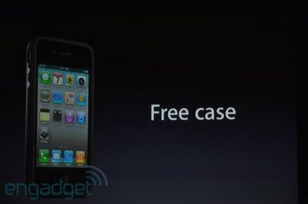 iPhone 4, conferenza stampa: custodie gratis per tutti