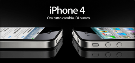 iPhone 4: i prezzi ufficiali di Apple, da infarto!