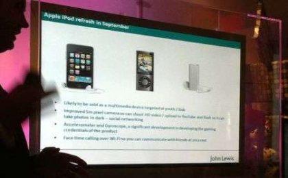 iPod Touch 4G arriverà a Settembre?