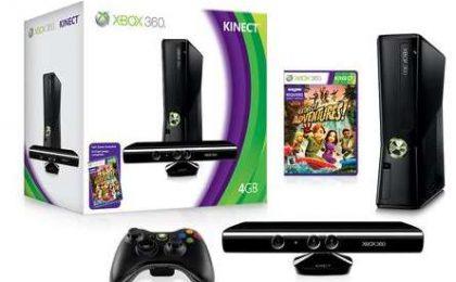 Kinect: prezzi per l'Italia e bundle con Xbox 360 4GB