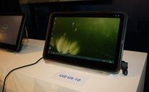 Tablet LG con Android verso fine anno