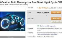 Moto di Tron Legacy in vendita su eBay!