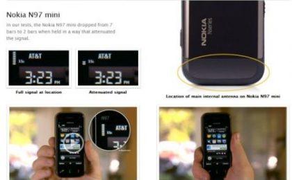 Apple attacca anche Nokia N97 Mini