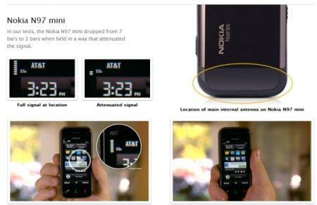 Apple attacca anche Nokia N97 Mini