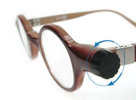 Occhiali universali che correggono tutti i difetti di vista
