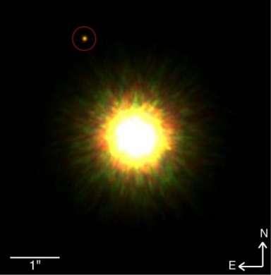 La prima foto di pianeta di un sistema extrasolare