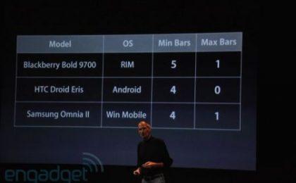 Apple Antennagate: risposte di Nokia, RIM, HTC e Samsung