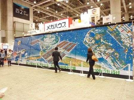 9000 Cubi di Rubik per il muro artistico, le foto!