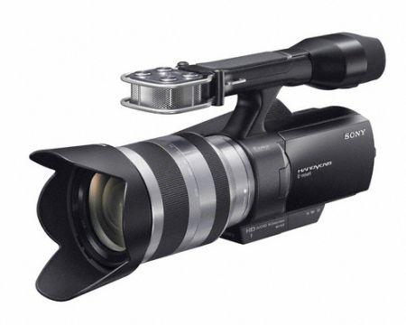 Sony NEX-VG10E Handycam: videocamera con lenti intercambiabili