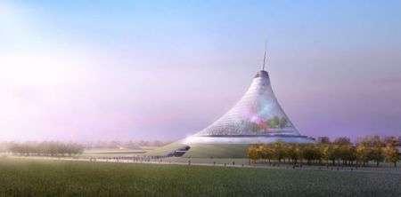 La tenda hitech più grande al mondo