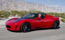 Tesla Roadster 2.5 con touchscreen di controllo