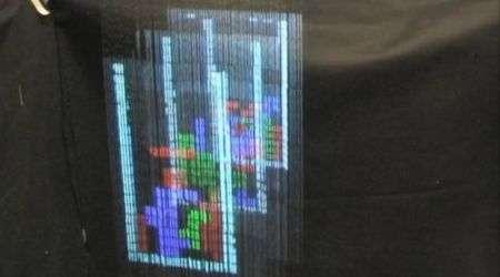 Tetris 3D su un display ad acqua, il video!