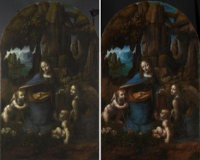 La Vergine delle Rocce svela i suoi segreti dopo il restauro