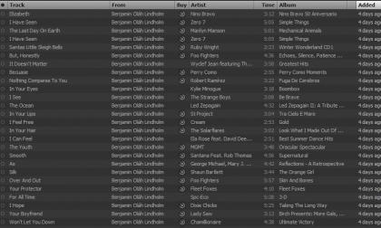 Poesia d'amore con la playlist di Spotify
