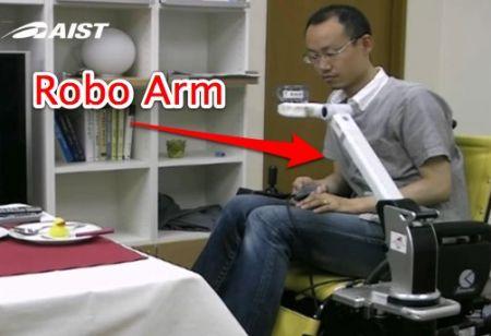 RAPUDA: braccio robotico che aiuta i disabili