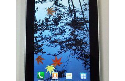 Samsung Galaxy Pad appare in video?