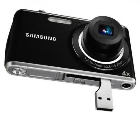 Samsung PL90 la fotocamera digitale con connettore USB integrato