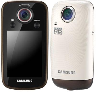 Samsung HMX-E10 la videocamera per vanitosi