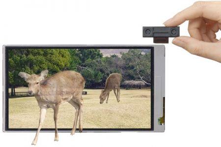 Cellulari Sharp presto con fotocamere 3D e schermi glass-free