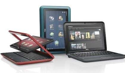 Tablet Dell Insipiron Duo: può diventare un netbook