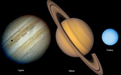 Giove e Saturno hanno giocato a flipper con Urano