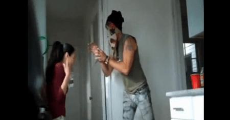 Video della ragazza investita dopo scherzo degli amici/ladri, bel fake