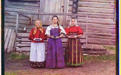 Questa foto di 100 anni fa non è photoshoppata