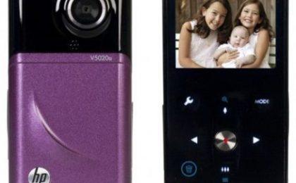 Videocamera HP palmare che ama l'HD