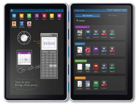 Tablet doppio schermo Kno per fine anno