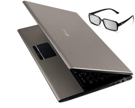 Portatile LG A510 converte il 2D in 3D